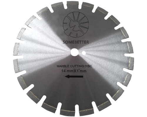 Diamond marble cutting blade / disc