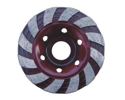 continuous turbo cup wheel