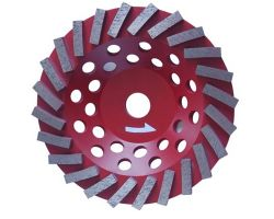 Segmented Turbo Cup Wheel