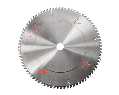 Aluminum material industry saw blade